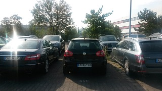 Parken am Airport Frankfurt